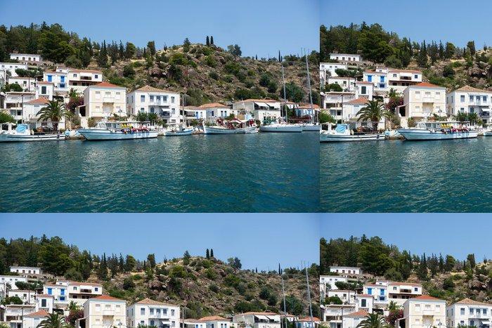 Tapeta Pixerstick Poros Island - Řecko - Město