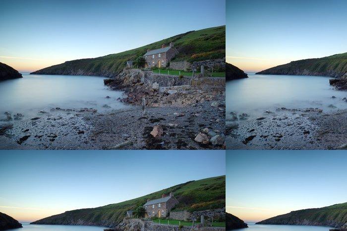 Tapeta Pixerstick Port Quin malá rybářská vesnice Cornish - Evropa