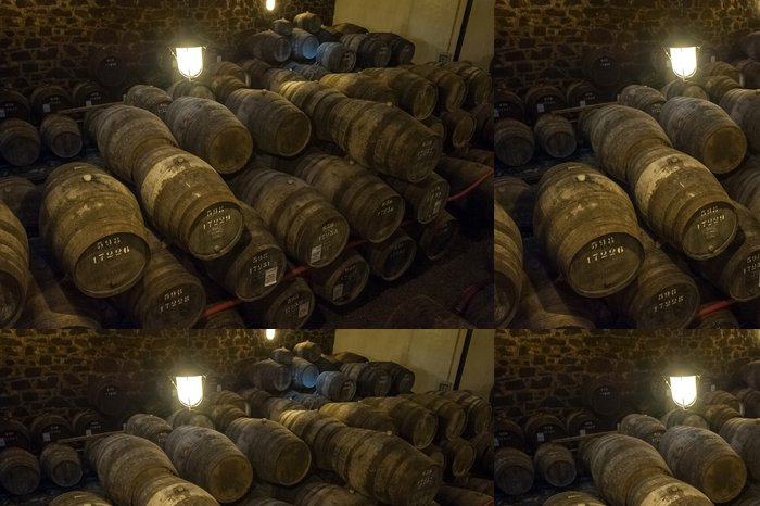 Tapeta Pixerstick Port vinný sklep v Vila Nova de Gaia, Portugalsko - Alkohol