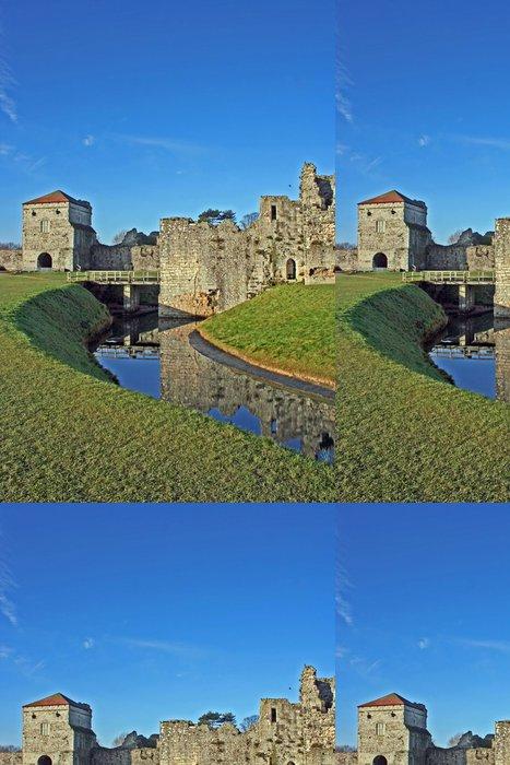 Tapeta Pixerstick Portchester hradním příkopu - Evropa