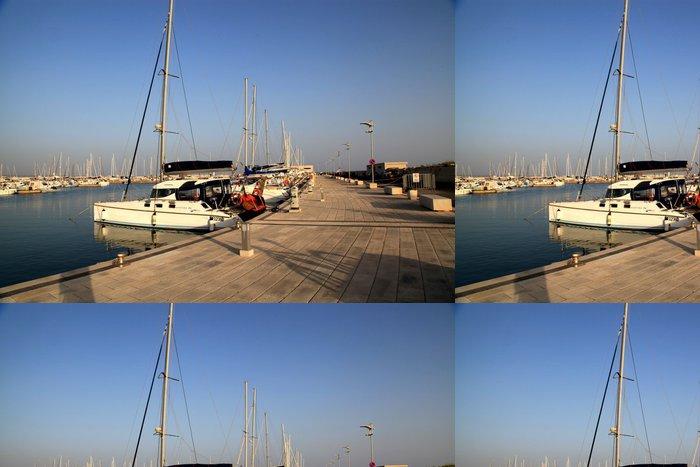Vinylová Tapeta Porto Marina di Ragusa - Prázdniny