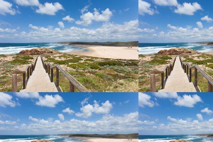 Vinylová Tapeta Portugalsko - Algarve - Praia da Bordeira - Evropa