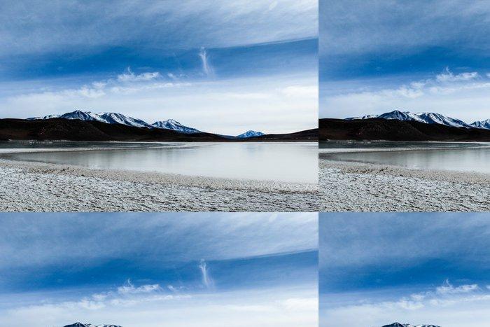 Tapeta Pixerstick Poušť na Altiplano v Andách v Bolívii - Asie