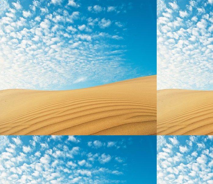 Tapeta Pixerstick Pouštní písek - Nebe