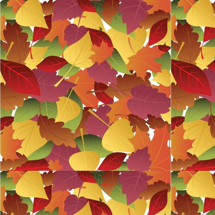 Tapeta Pixerstick Pozadí podzimní listí - Pozadí