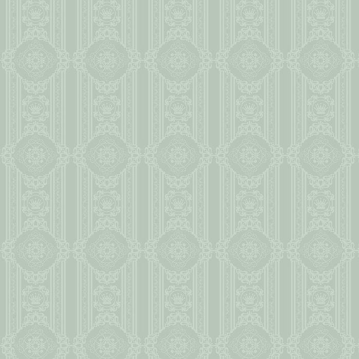 Tapeta Pixerstick Pozadí retro: tapety, vzor, bezešvé, vektor - Veřejné budovy