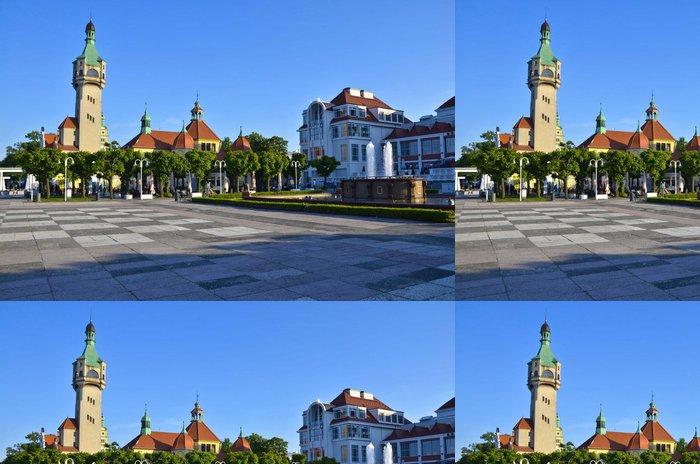 Tapeta Pixerstick Praça Central de Sopot - Témata