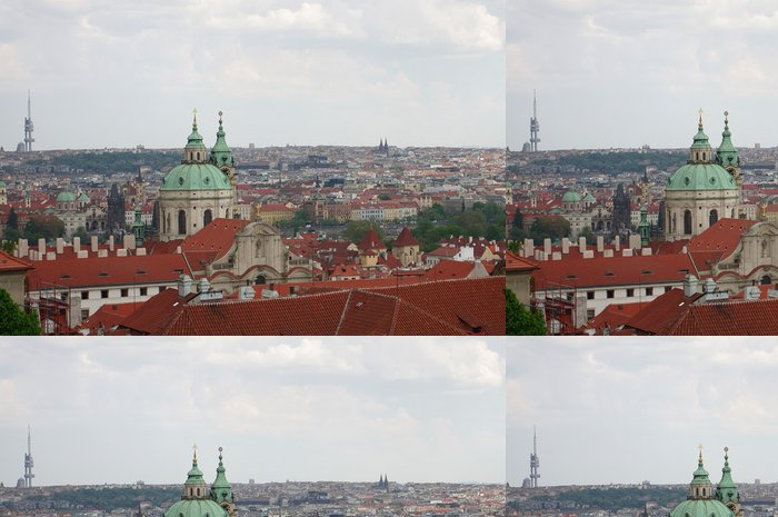Vinylová Tapeta Praha panorama - Evropa