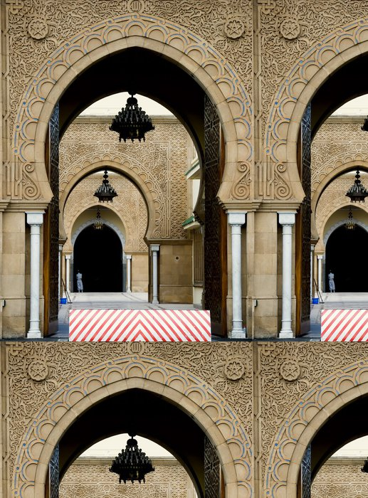 Vinylová Tapeta Přední krále Mohammad VI paláci v Rabatu - Afrika