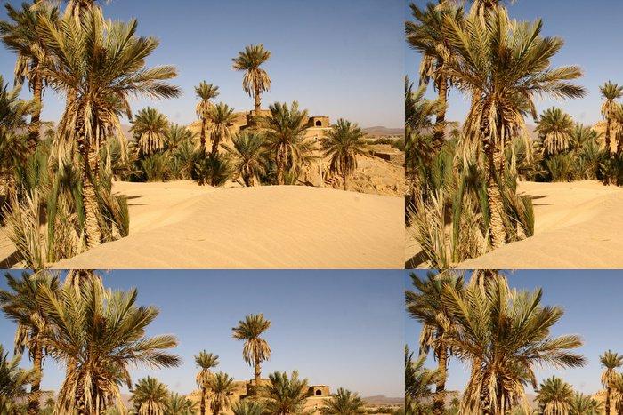 Tapeta Pixerstick Premières duny du Sahara - Afrika