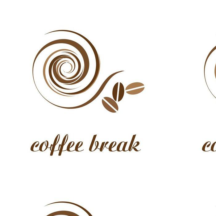 Vinylová Tapeta Přestávka Logo coffee # Vector - Značky a symboly