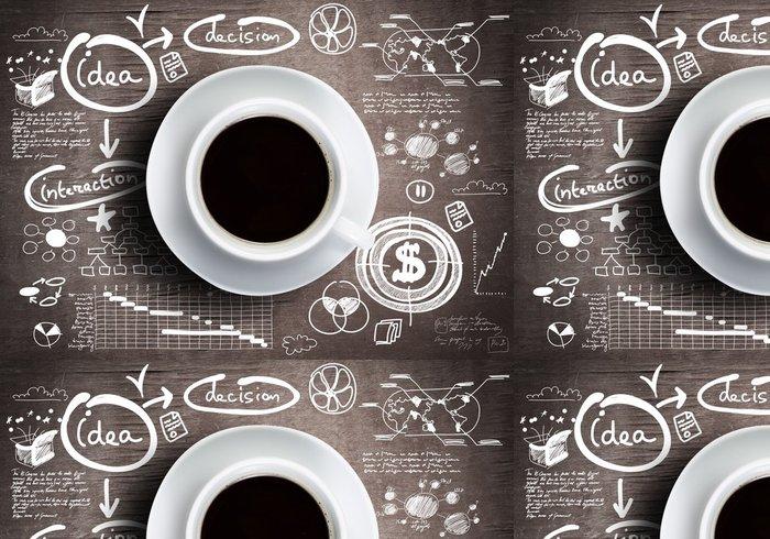 Tapeta Pixerstick Přestávka na kávu - Témata