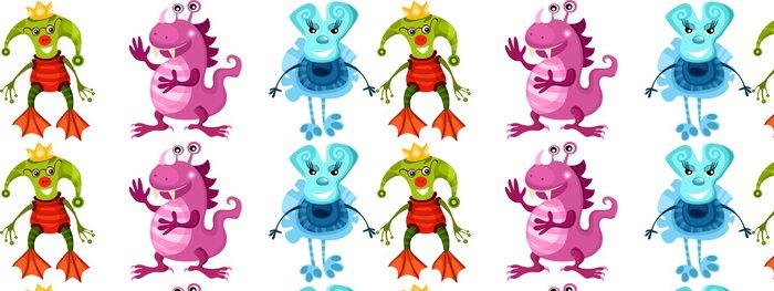 Tapeta Pixerstick Příšery - Imaginární zvířata