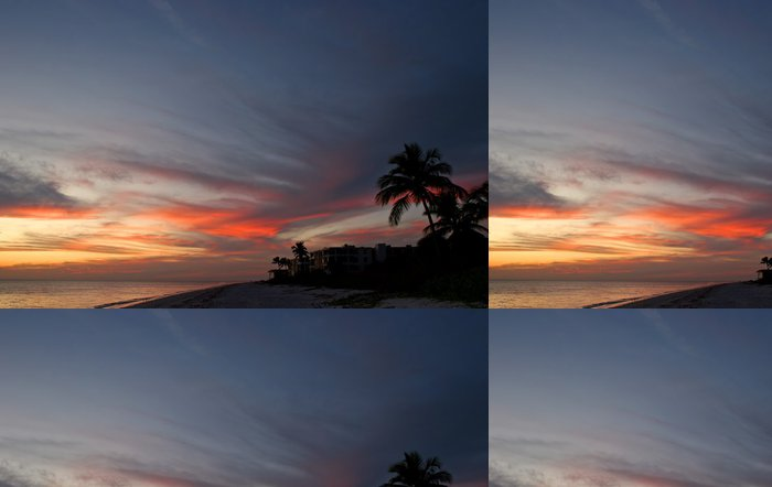 Tapeta Pixerstick Přímořské Beach Condominium - Nebe
