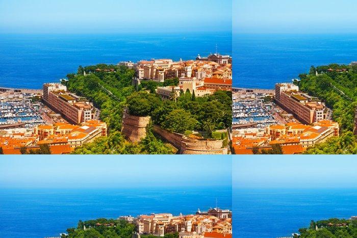 Tapeta Pixerstick Prince Palace a staré město v Monaku - Evropa