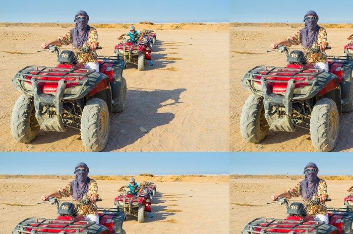 Tapeta Pixerstick Připravený k jízdě - Afrika