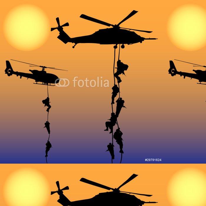 Vinylová Tapeta Přistání vrtulníku - Osud