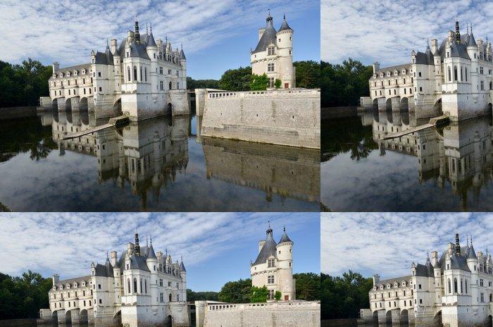 Tapeta Pixerstick Procházka k zámku Chenonceau - Prázdniny