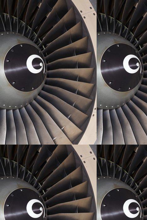 Vinylová Tapeta Proudový motor osobní letadlo - Jiné objekty