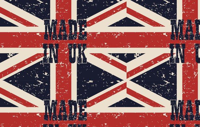 Tapeta Pixerstick Provedeny v plakátu UK - Témata