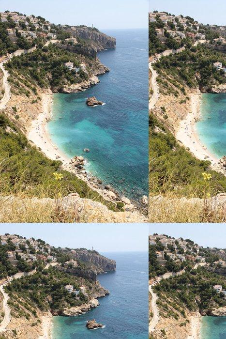 Tapeta Pixerstick Provincie Ambolo pláž Javea Costa Blanca Alicante Španělsko - Evropa