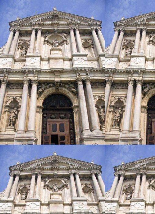 Tapeta Pixerstick Průčelí katedrály v Benátkách - Evropa