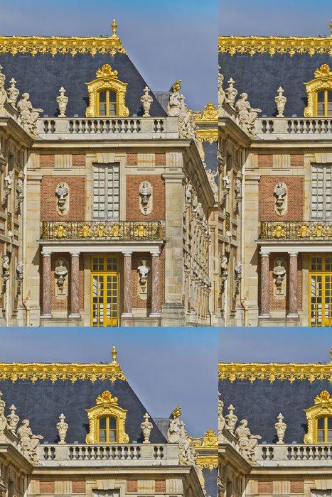 Tapeta Pixerstick Průčelí paláce Versailles Famous. Paříž, Francie. - Evropská města