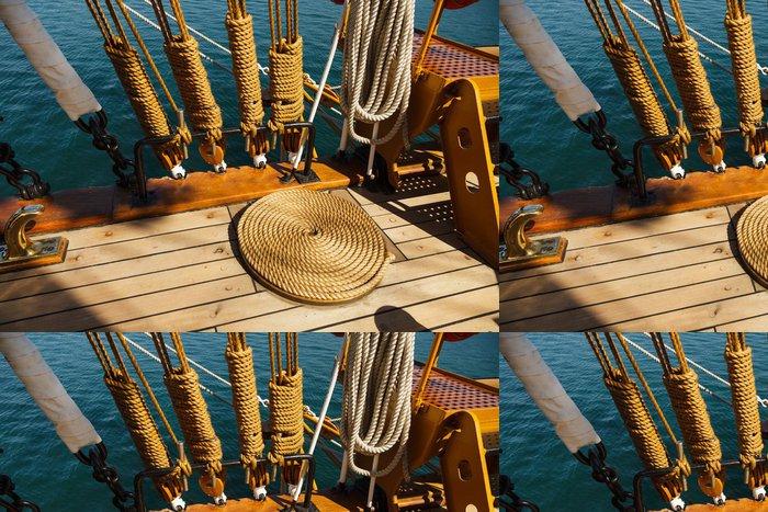 Vinylová Tapeta Prvky zařízení jachty - Lodě
