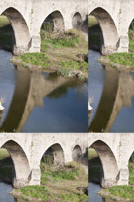 Tapeta Pixerstick Puente Romano de Besalú - Infrastruktura