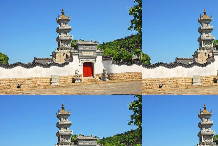 Tapeta Pixerstick Putuoshan, Puji chrám scénický prostor, Duo Bao pagoda - Asijská města
