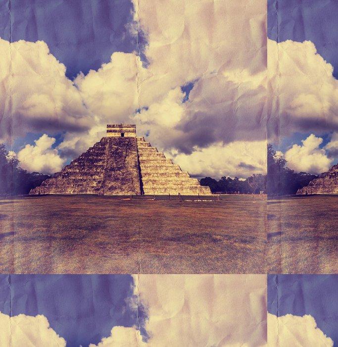 Tapeta Pixerstick Pyramida v Mexiku - Amerika