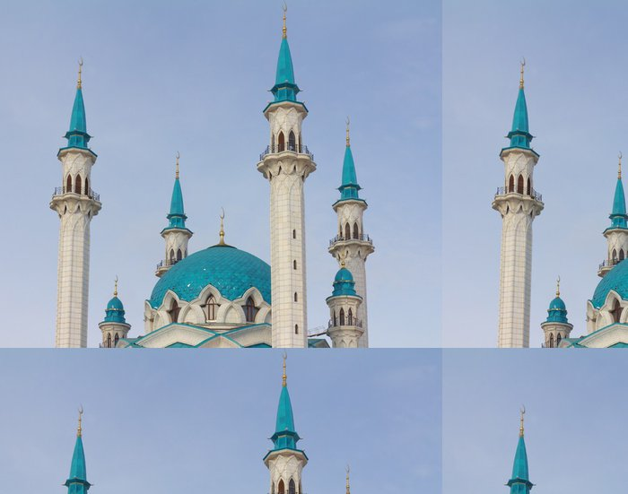 Tapeta Pixerstick Qolsharif Mešita v Kremlu ve městě Kazaň - Témata