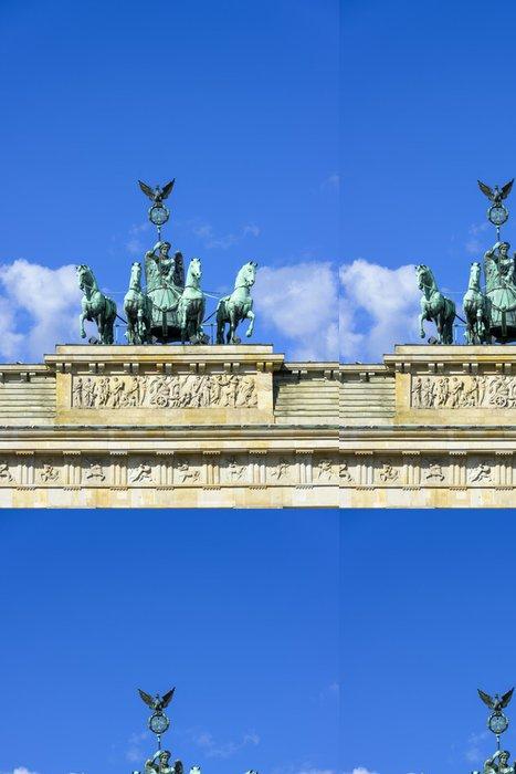 Tapeta Pixerstick Quadriga auf dem Brandenburger Tor, Berlín - Evropa
