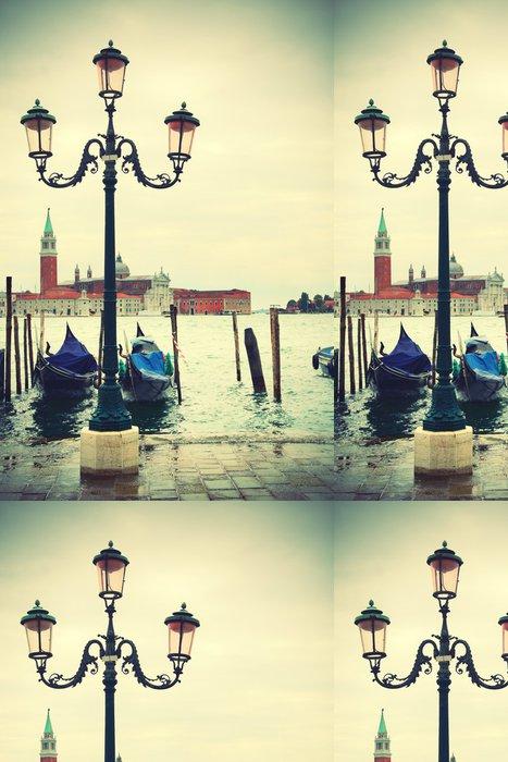 Tapeta Pixerstick Quay v Benátkách - Témata