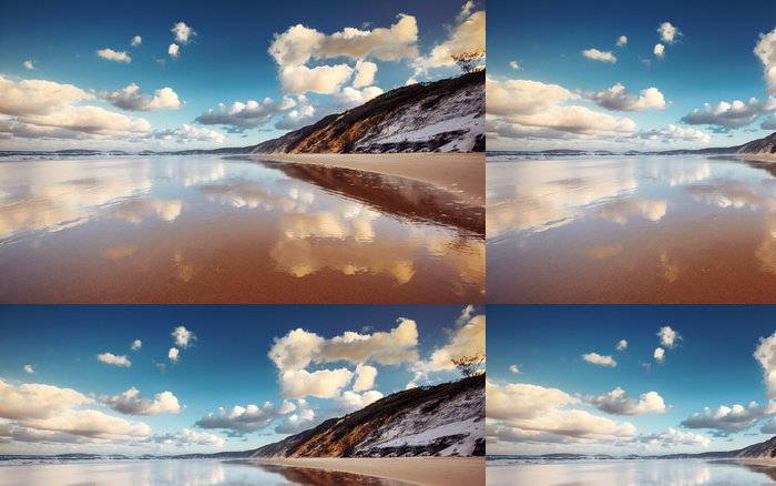 Tapeta Pixerstick Rainbow Beach - Voda