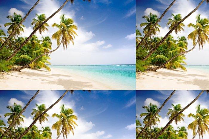 Tapeta Pixerstick Ráj karibské pláži - Témata