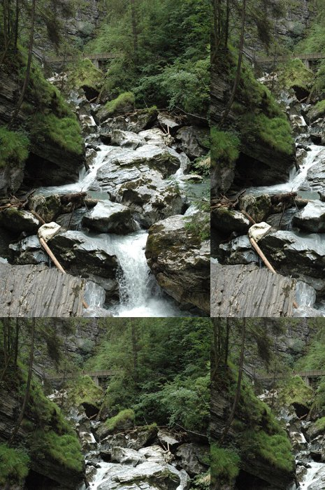 Tapeta Pixerstick Rakousko příroda Kaprun - Evropa