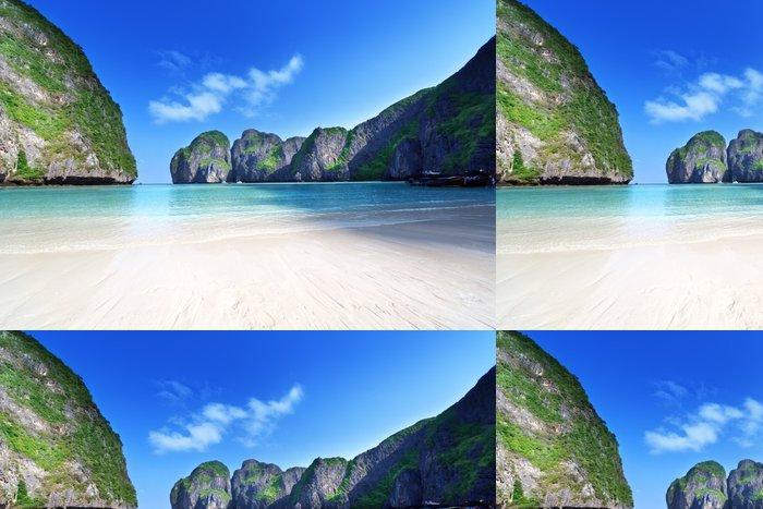 Vinylová Tapeta Ráno čas v zátoce Maya, Phi Phi Leh ostrov, Thajsko - Voda