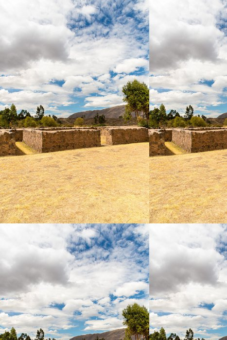 Tapeta Pixerstick Raqchi, místo archeologický Inca Cusco, Peru Ruin - Památky