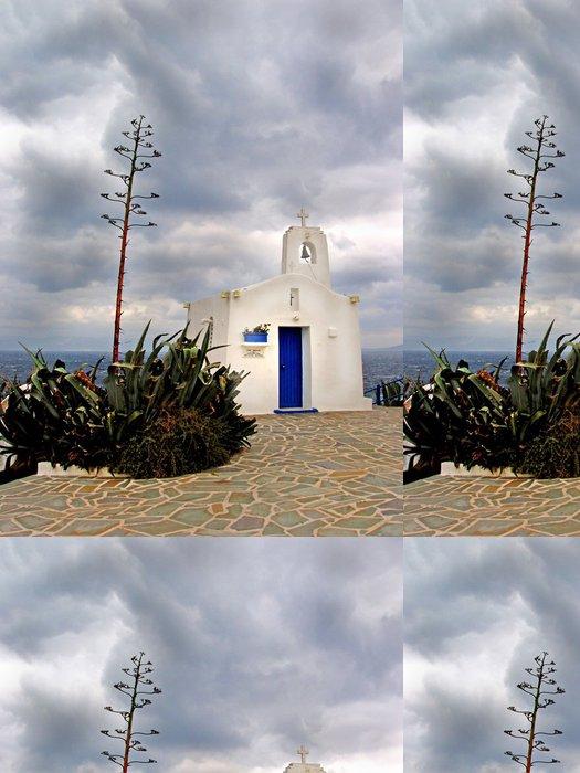 Tapeta Pixerstick Řecký ortodoxní kostel v Rafina - Řecko - Náboženství