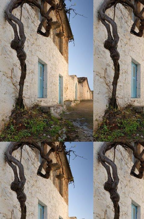 Tapeta Pixerstick Řecký vesnice - Evropa