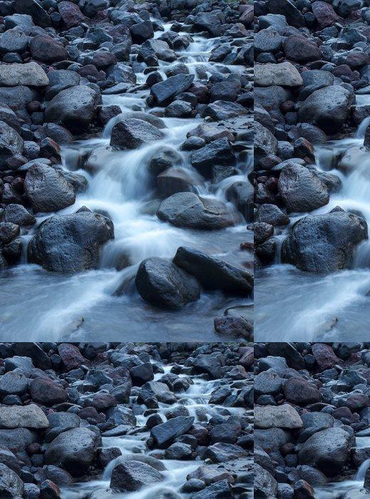 Vinylová Tapeta Řeka a kameny. přírodní krajiny - Prázdniny