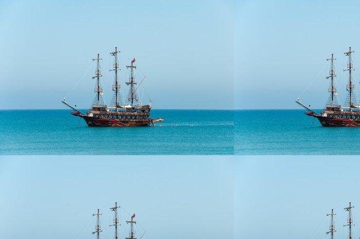 Tapeta Pixerstick Rekreační loď Středozemní moře - Lodě
