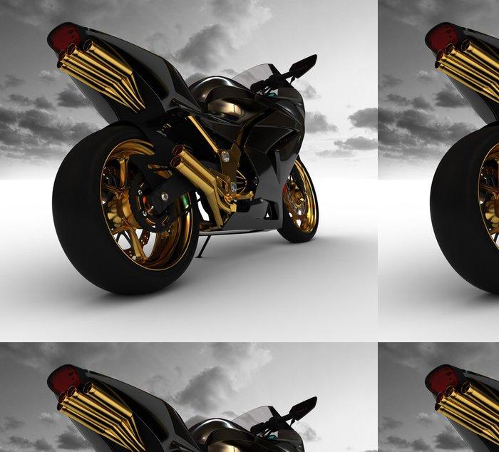 Tapeta Pixerstick Render koncepce motocyklu - Osud