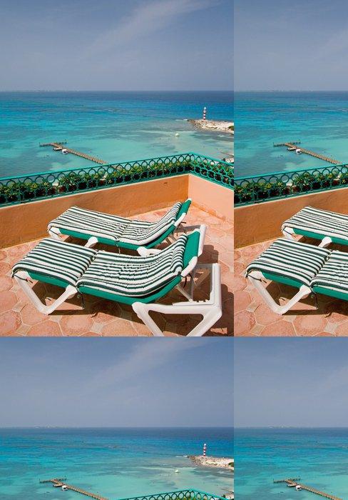 Vinylová Tapeta Resort Balkon Klubovky - Amerika
