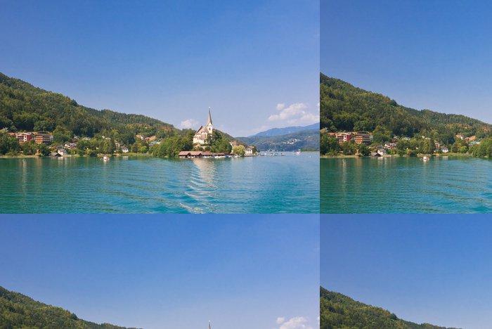 Tapeta Pixerstick Resort Maria Worth. Kostel sv Primus a Felician. Rakousko - Prázdniny