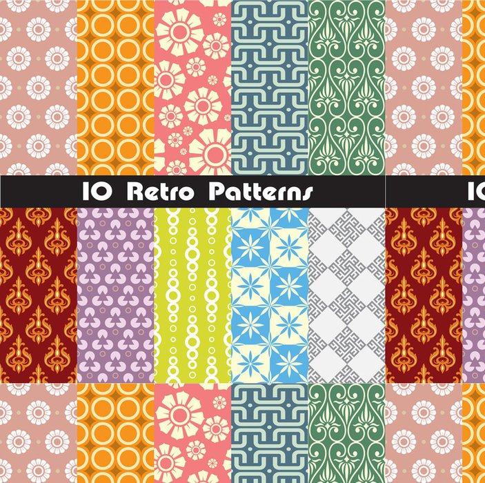 Tapeta Pixerstick Retro kolekce vzory pro výrobu bezešvé tapety - Pozadí