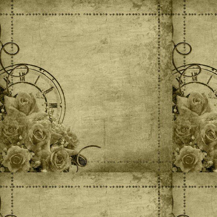 Vinylová Tapeta Retro vintage romantické pozadí - Pozadí