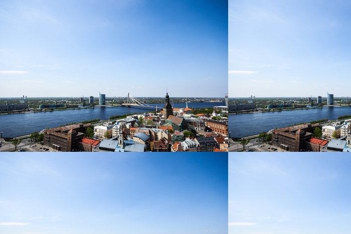 Tapeta Pixerstick Riga City View - Město