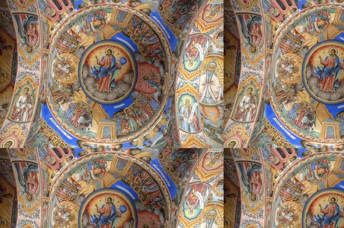 Tapeta Pixerstick Rila Monastery, Bulgaria - Evropa
